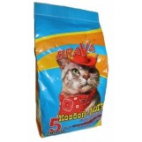 Brava Ковбой Мяу для гладкошерстных кошек, 5 литр.