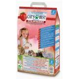 Cat's Best Universal Клубника наполнитель древесный впитывающий, 5,5 кг. / 10 лит.
