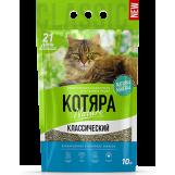 Котяра, наполнитель для кошек комкующийся, 5 кг.