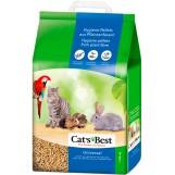 Cat's Best Universal наполнитель древесный впитывающий, 5,5 кг. /10 лит.