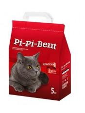 PipiBent, наполнитель для кошек, 5 кг.
