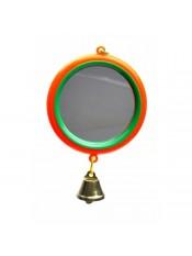 Зеркало для попугая с колокольчиком 5011