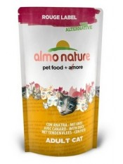 Almo Nature 100% Fresh для кошек с уткой , Rouge label The Alternative Cat Duck, 105 гр. - артикул: 23204