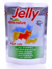 Almo Nature Паучи для кошек с тунцом в желе , Jelly Cat Tuna, 70 гр. - артикул: 22522
