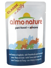 Almo Nature Паучи для кошек с тунцом и камбалой в желе, Jelly Cat Tuna&Sole, 55 гр. - артикул: 23412