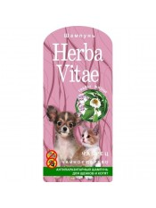 Herba Vitae шампунь антипаразитный для щенков и котят, 250 мл.