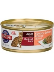 Hill's консервы для кошек с лососем, 85 гр.
