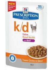 Hill's паучи для кошек  K/D, с говядиной, 85 гр.
