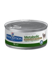 Hill's консервы для кошек Metabolic Feline, 156 гр.