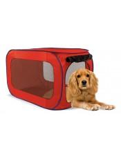 Kitty City Переносной домик для собак средних пород 81x49.5x49.5 см, полиэстер, артикул: 24266.сред