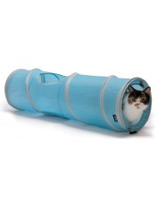 "Kitty City Тоннель-шуршалка для кошек ""Космос"" 28 х 28 х 91 см, артикул: 23049"
