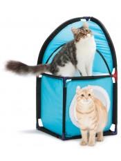 """Kitty City Домик для кошек """"Место встречи"""", 72x36x36см, флис, арт. 23052"""