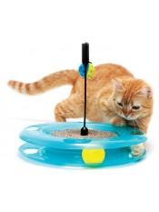 "Kitty City Игрушка для кошек: Поле Чудес. ""Swat Track & Scratcher"": 31*31*6см арт. 23060"