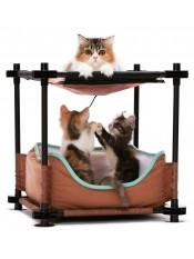 "Kitty City Лежак для кошек ""Барские покои"", 44x45x45 см артикул: 23063"