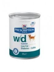 Hill's консервы для собак W/D, 370 гр.