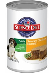 Hill's Science Plan Puppy Savoury Chicken для щенков, 370 гр.