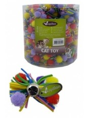 Разноцветный бант с бубенчиком, 7 см
