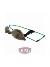 Мышь на резинке, крепящ. на дверной проем, 8см Trixie