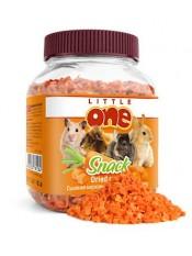 Little One лакомство сушенная морковь, 200 гр.
