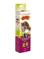 Little One. Палочки для хомяков, крыс, мышей и песчанок с ягодами