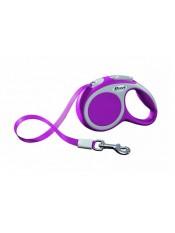 flexi Рулетка-ремень для собак до 12кг, 3м, розовая, VARIO XS tape 3m pink, артикул: 19259