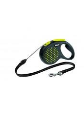 Flexi Рулетка-трос для собак до 12 кг, 5 м, желтая, Design S Cord 5 m, yellowарт. 10842.жел