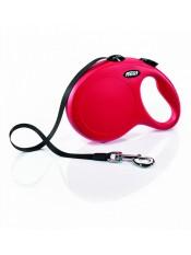 Flexi Рулетка-ремень для собак до 50кг, 8м, красная (New Classic L Tape 8 m, red) арт. 10857.кр