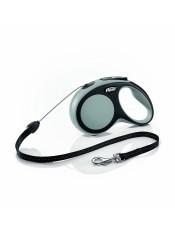 Flexi Рулетка-трос для собак до 12кг, 8м, серая, New Comfort S Cord 8 m, greyарт. 10849.сер