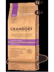 Grandorf корм для взрослых собак крупных пород, ягнёнок с рисом, 12 кг.