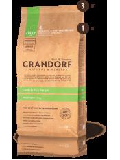 Grandorf корм для взрослых собак мини пород, ягнёнок с рисом, 3 кг.