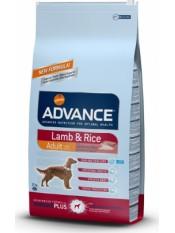 Advance Lamb & Rice, для взрослых собак, ягненок с рисом, 12 кг.