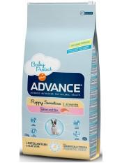 Advance Puppy Sensitive, для щенков с чувствительным пищеварением, 12 кг.