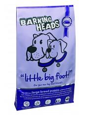 """Barking Heads для щенков крупных пород с курицей, лососем и рисом """"Большелапый малыш"""", 12 кг."""