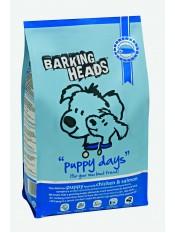 """Barking Heads для щенков с курицей, лососем и рисом """"Щенячьи деньки"""", 12 кг."""