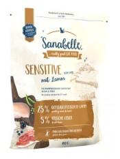 Бош Sanabelle Сенситив корм для кошек с ягненком, 10 кг.