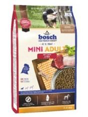 Бош Мини Эдалт Ягненок с Рисом корм для собак,  3 кг.