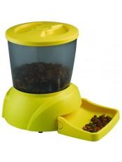 Feedex Автокормушка на 2 кг корма для кошек и мелких пород собак желтая PF3Y, артикул: 14052.жел