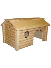 Дом для грызунов с коньковой крышей И224