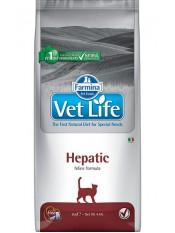 Farmina Vet Life Hepatic, печеночная недостаточность, 2 кг.