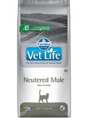 Farmina Vet Life Neutered Male, для кастрированных котов, 2 кг.