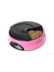 Feedex Автокормушка на 4 кормления для 1-1,2 кг корма, розоваяPF2B, артикул: 14047.роз
