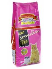 """Frank's ProGold lля кошек с чувствительным пищеварением """"Ягненок по-голландски"""",  Sensitive 32/18, 3 кг. арт 23298."""