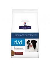 Hill's для собак D/D, утка и рис, 12 кг.