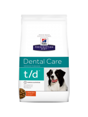 Hill's для собак T/D, 3 кг.