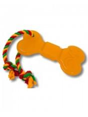 Игрушка Doglike Кость малая с канатом 10см