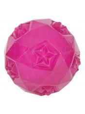 Мяч, термопластичная резина (малиновая), 7,5 см.