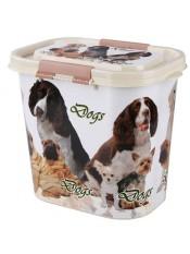 """Контейнер """"Dogs"""" для корма, 10 лит."""