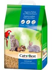 Cat's Best Universal наполнитель древесный впитывающий, 10 лит.