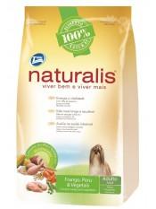 Naturalist Для взрослых собак малых пород с индейкой, курицей, коричневым рисом и овощами, 15 кг. арт. 10395
