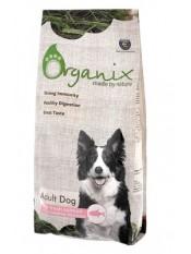 Organix для собак со свежим лососем и рисом, 12 кг.